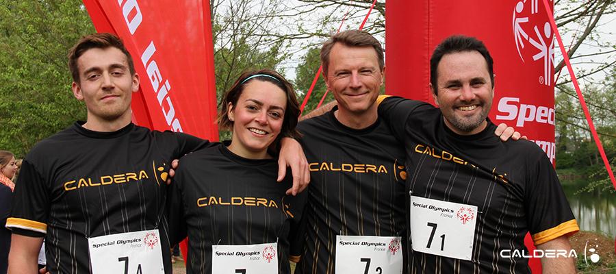 Caldera Team at Special Olympics France 2019