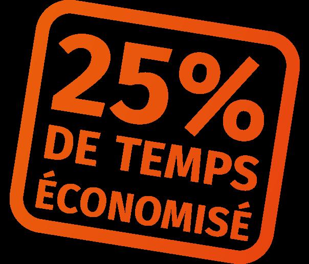 25% de temps économisé avec CalderaRIP V14