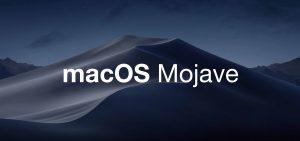 Banner macOS Mojave