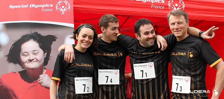 Caldera Team at Special Olympics France