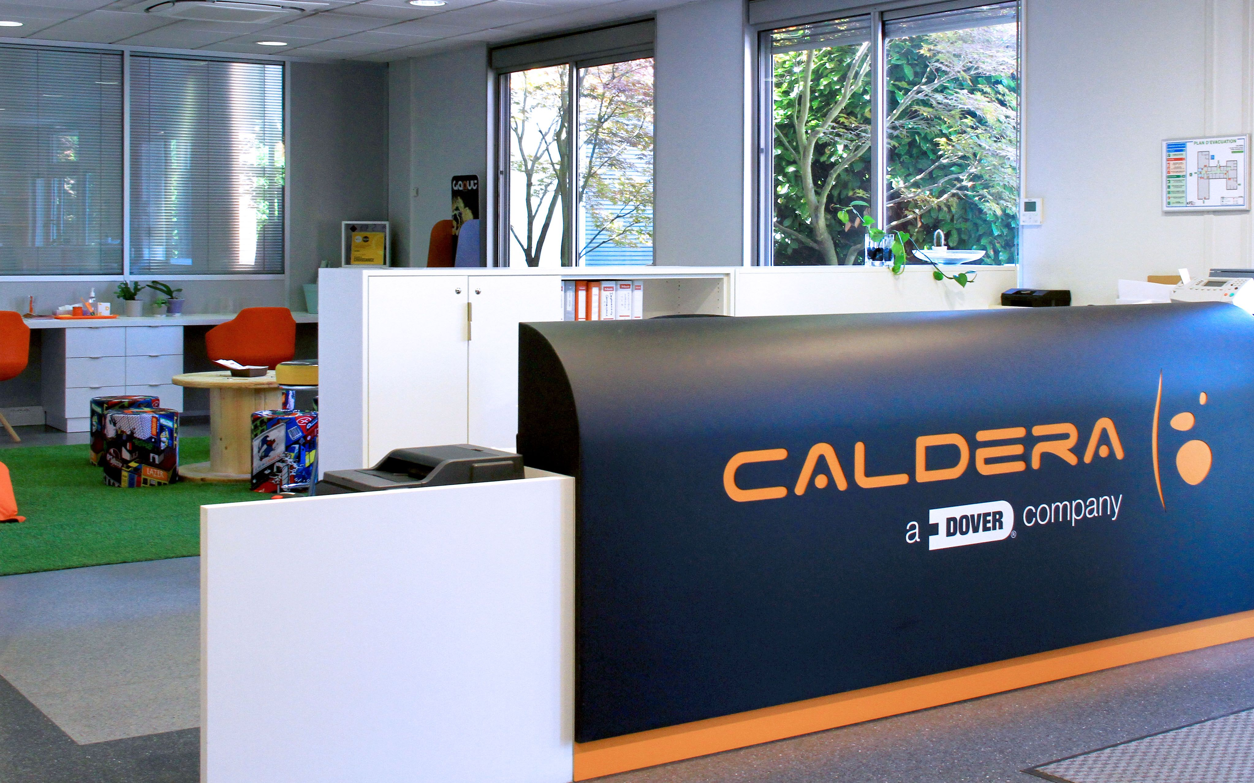 Caldera Headquarters in Strasbourg, France