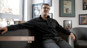 Photo of Thierry Veil, CEO of Bagelstein, Interview by Caldera