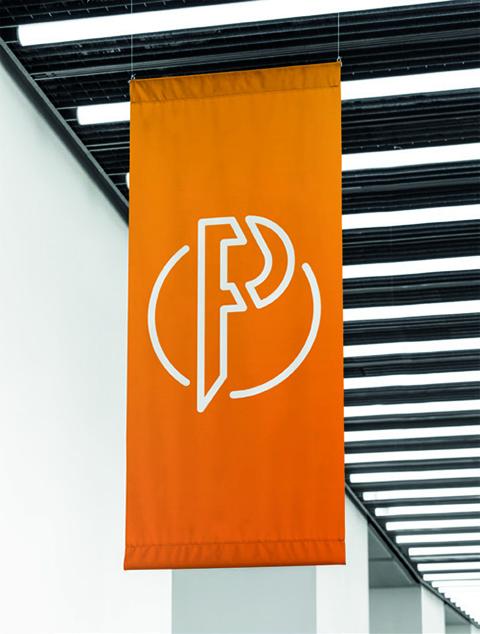 Caldera PrimeCenter Soft Signage Banner