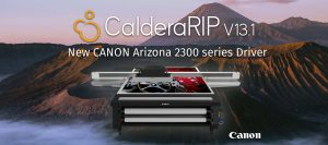 Canon Arizona Drivers for CalderaRIP