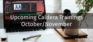 Trainings October November