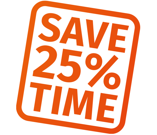 Save 25% time with CalderaRIP V14