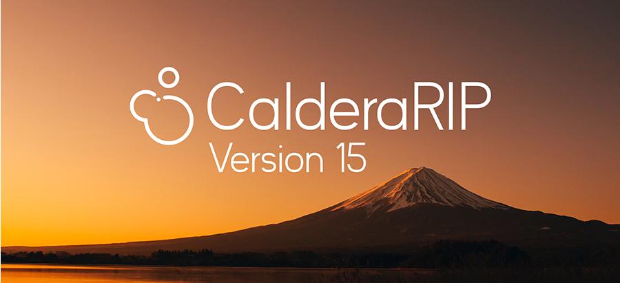 CalderaRIP Version 15 Banner